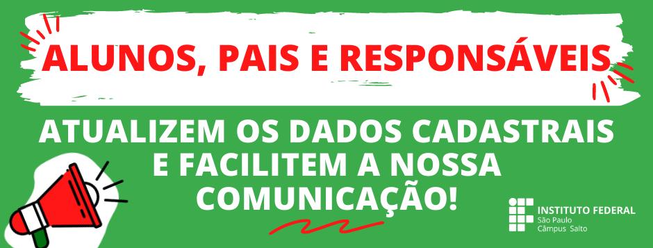 ALUNOS, PAIS E RESPONSÁVEIS