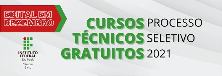 COMUNICADO SOBRE PROCESSO SELETIVO PARA CURSOS TÉCNICOS