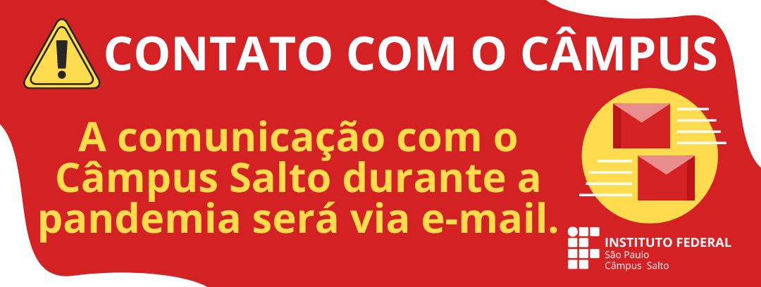 CONTATO COM O CÂMPUS