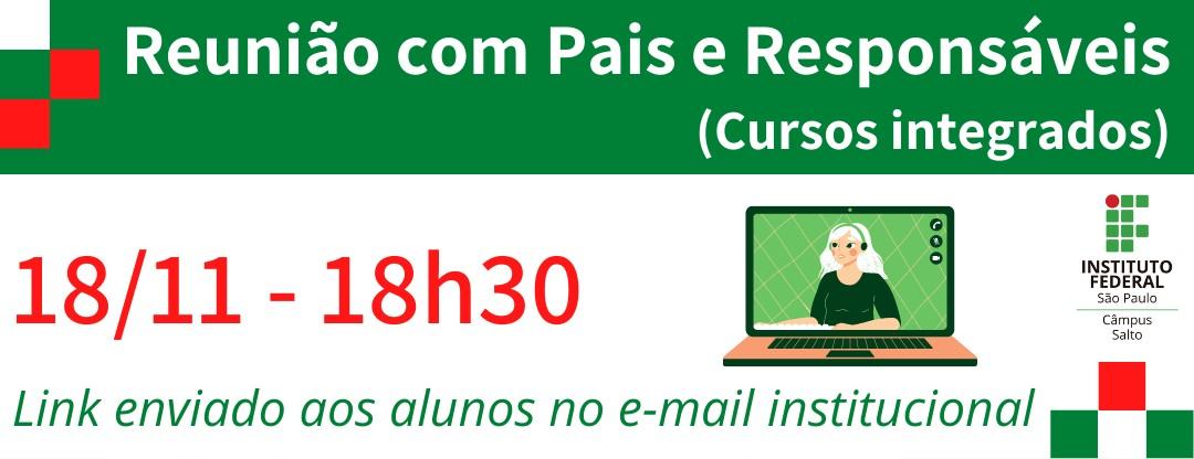 REUNIÃO DE PAIS E RESPONSÁVEIS